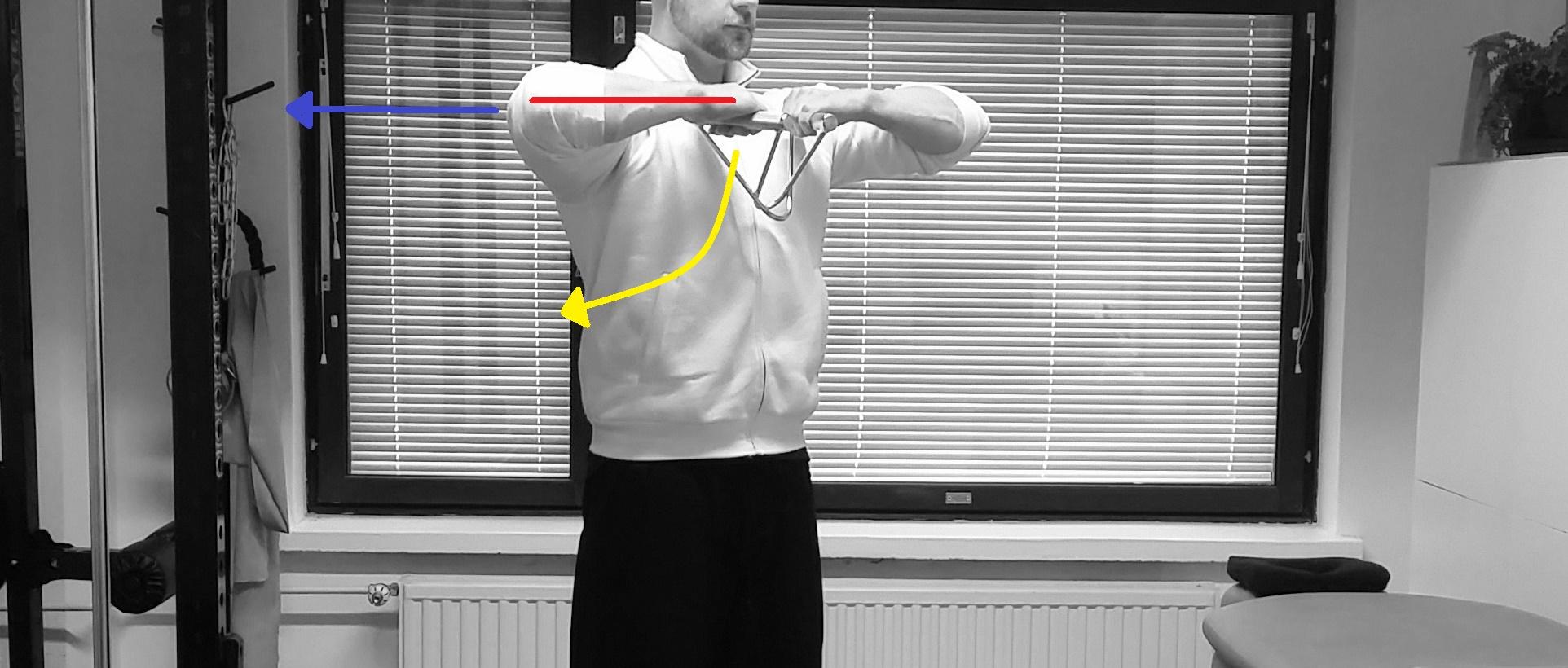 Pystysoutu – mitä harjoitteessa oikein tapahtuu?