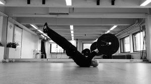 Keskivartaloalueen harjoittelu