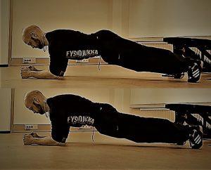 Isometriset vatsalihasharjoitteet